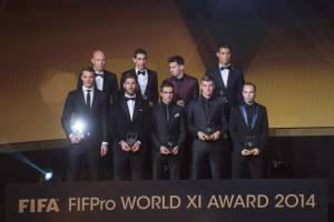 FIFPro WORLD XI Award 2014